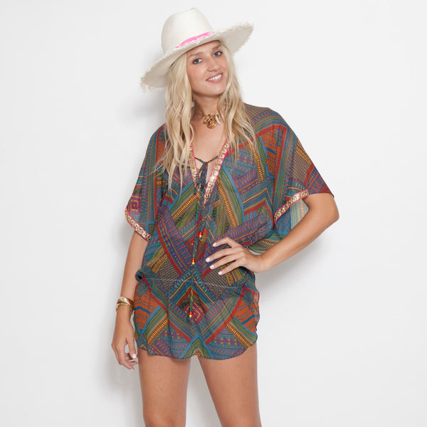 St. Barth's Cover-up(AVAILABLE IN MORE COLORS/PRINTS)