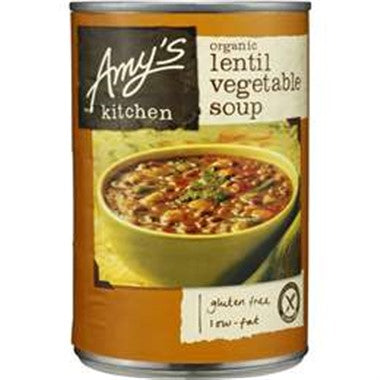Amy's Kitchen Organic Lentil Vegetable Soup