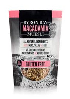 Byron Bay Macadamia Muelsi Gluten Free Fruit and Nut