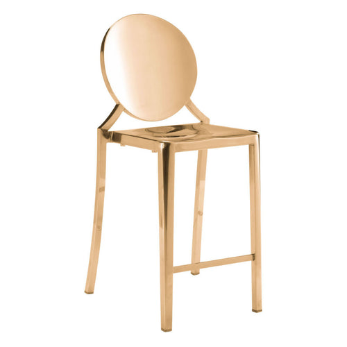 Eclipse Counter Chair Gold