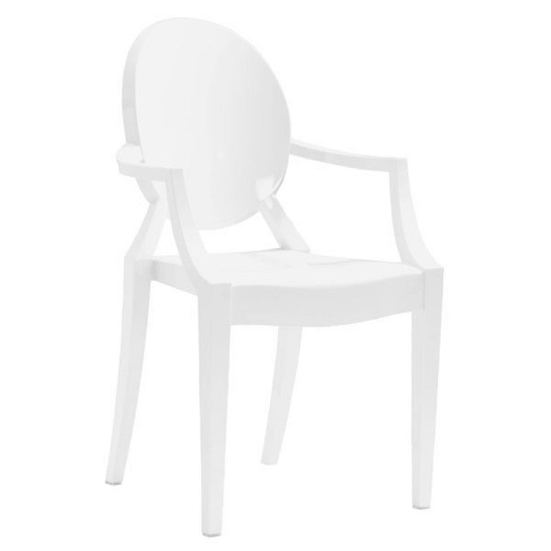 Anime Dining Chair White