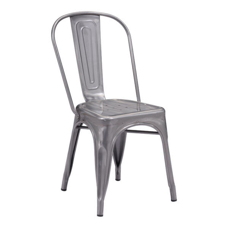 Elio Dining Chair Gunmetal