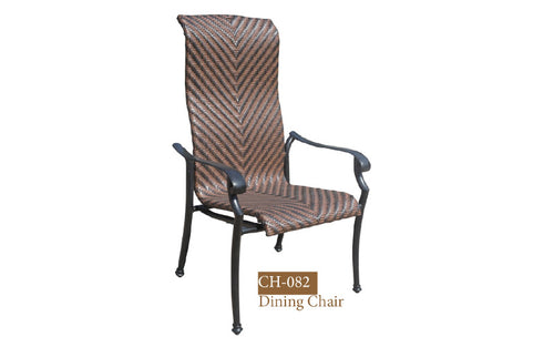 Fully Welded Dining Chair 4pc