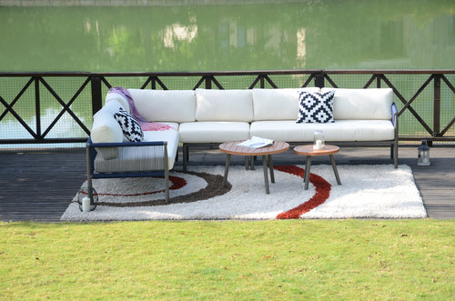Claire outdoor sectional set by Mr. backyard