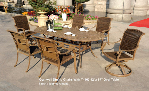 Diamond Oval DiningTable 1pc