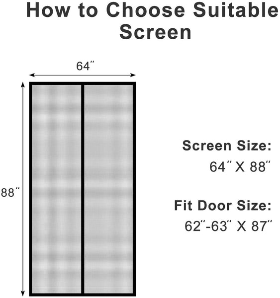 instant door screen