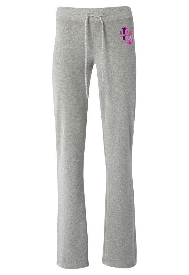 Love Lipsy Heart Joggers - Glitzy Angel