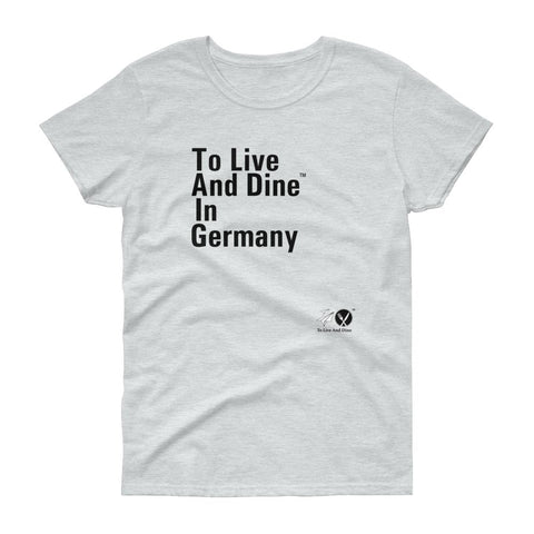 To Live And Dine In Germany