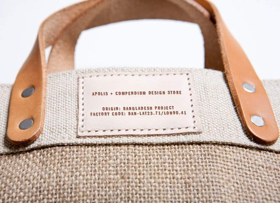 Fremantle Market Tote Bag. Apolis. Compendium Design Store. AfterPay, ZipPay accepted.
