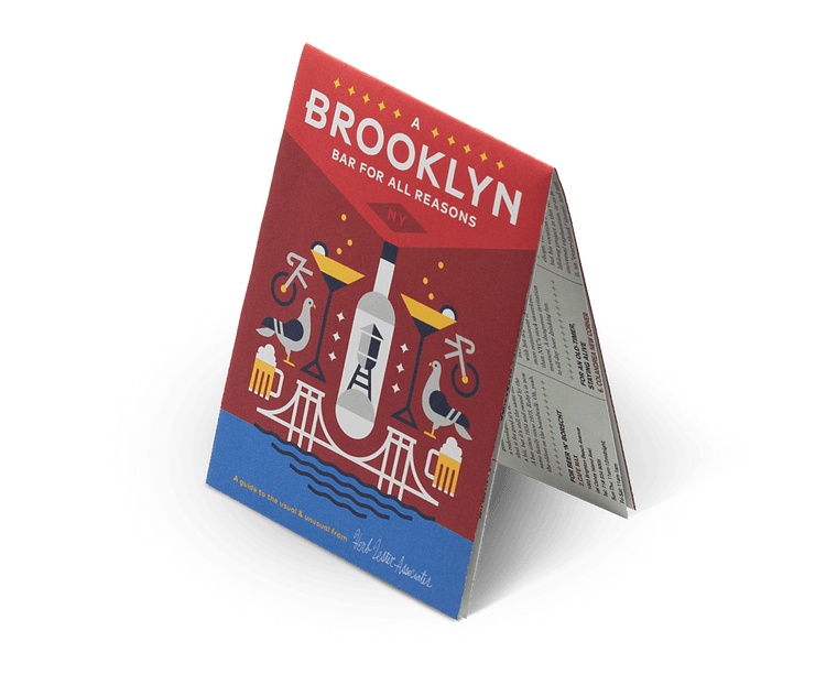 A Brooklyn Bar for All Reasons. City Guide & Map by Herb Lester Second Edition
