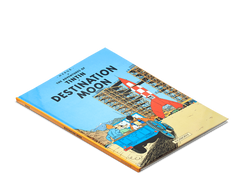 The Adventures of Tintin Book: Destination Moon