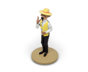 Professor Calculus Gardening Resin Figurine (Discontinued)