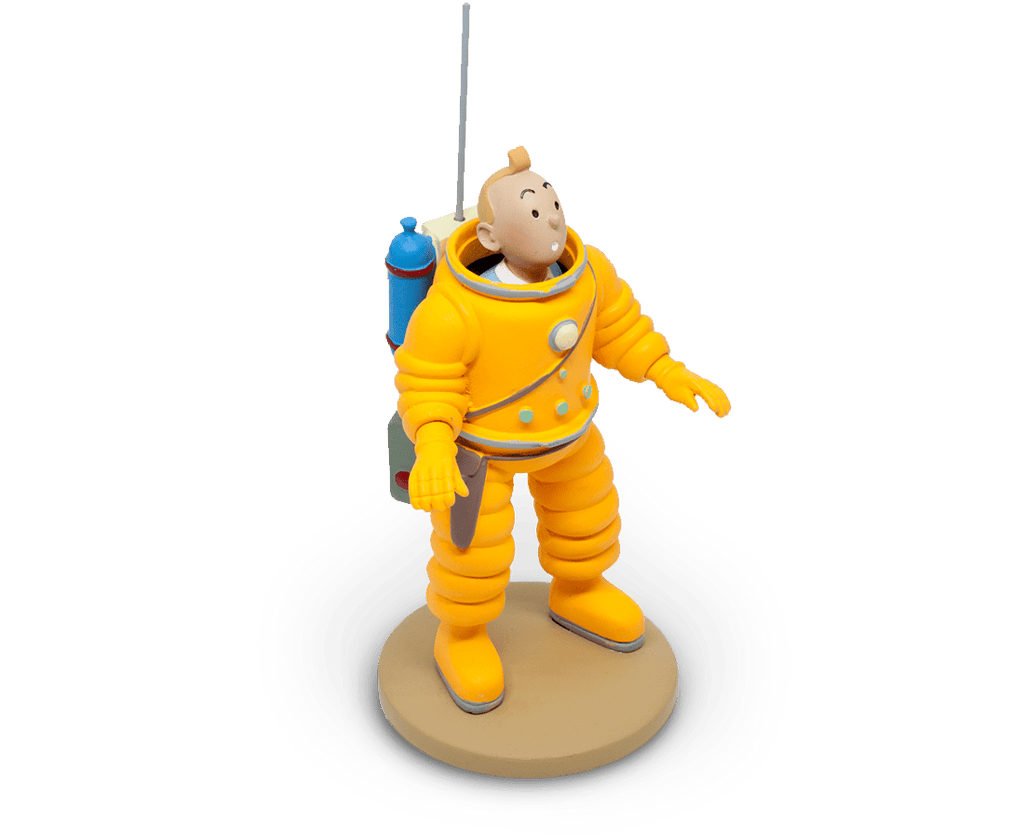 Tintin Cosmonaute Resin Figurine. Moulinsart. Compendium Design Store. AfterPay, ZipPay accepted.