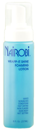 Nairobi Wrapp-It Shine Foaming Lotion