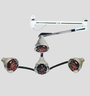 Pibbs QL954A 4 Headed Procesing Lamp Wall Arm