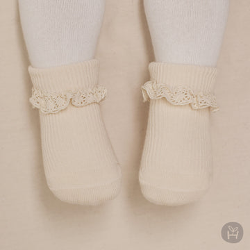 Shrea Socks - Cream