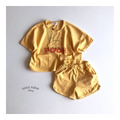 MINI ROBE Pooh Top Bottom Set - Yellow