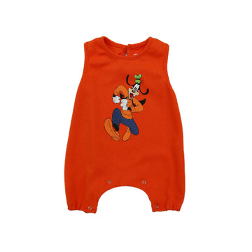 Korean Brand Disney Baby Sleeveless Bodysuit - Orange