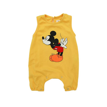 Korean Brand Disney Baby Sleeveless Bodysuit - Yellow