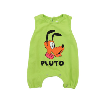 Korean Brand Disney Baby Sleeveless Bodysuit - Light Green