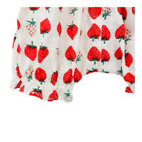 Korean Summer Baby Girl Short - Strawberry