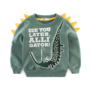Animal Sweatshirt- Alligator