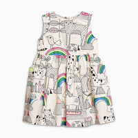 Summer Dress - with Rainbow