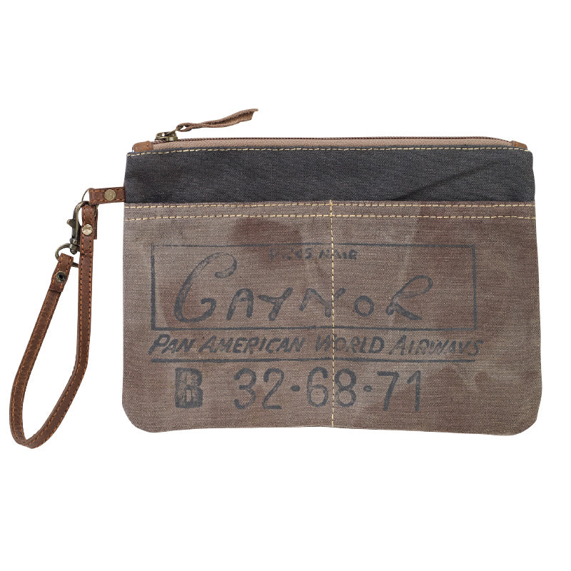 Clea Ray - Pan Am Clutch with Strap