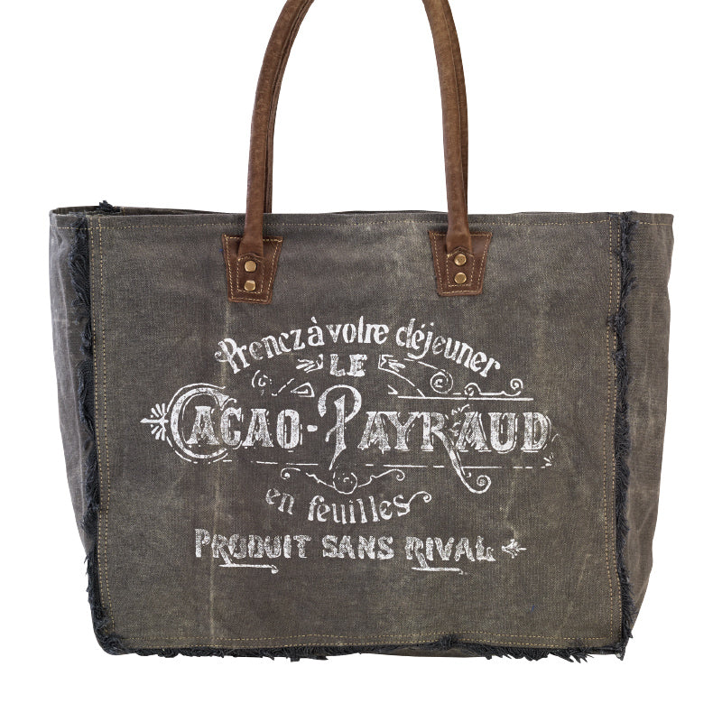 Clea Ray - Grey Cacao Tote