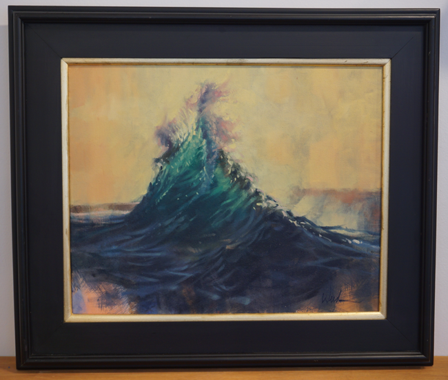 """Emerald Wave"" by Steve Weed"