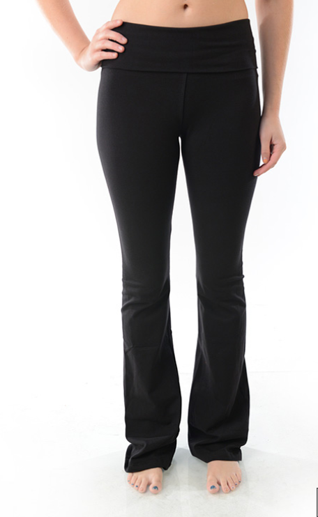TParty Solid Flare Yoga Pants