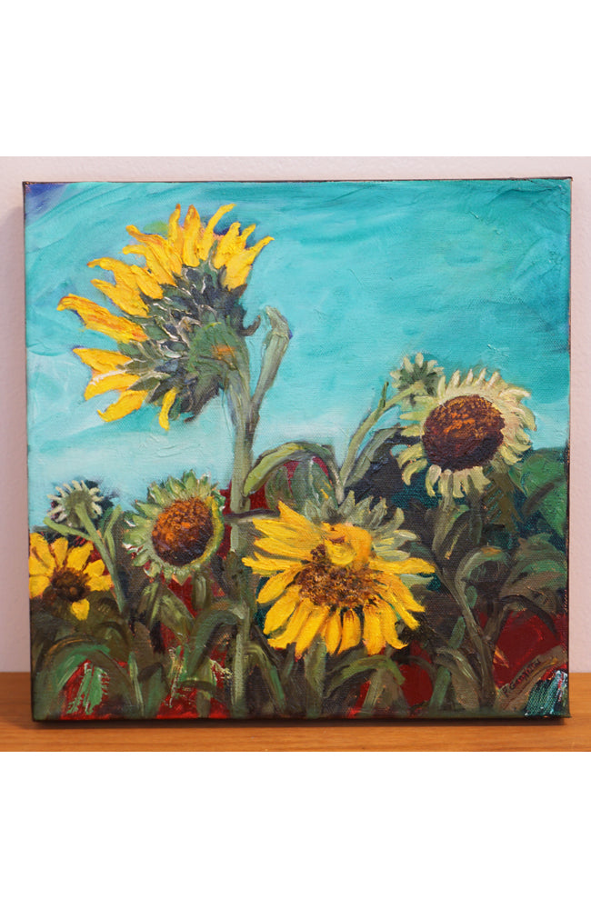"""Sunflowers"" by Pat Geonetta"