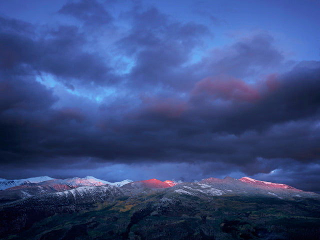 """Last Light, McClure Pass, Colorado"" by David Clack"
