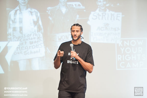 Colin Kaepernick Spreads Knowledge & Love Uptown…