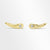 18K GOLD PLATED BRASS WITH DIAMOND MINI EAR CLIMBER