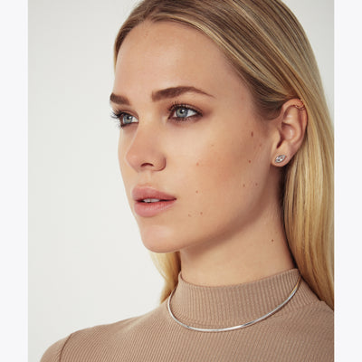 THIN STERLING SILVER CHOKER