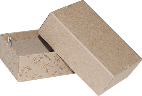"Kraft Repair/Mailing Box - PK1 - 3 5/8"" x 2 1/4"" x 1 1/4"""