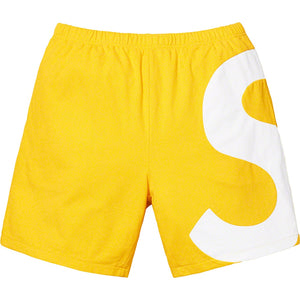 Supreme 19S/S S Logo Short Yellow