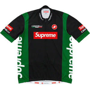 Supreme 19S/S Castelli Cycling Jersey Black