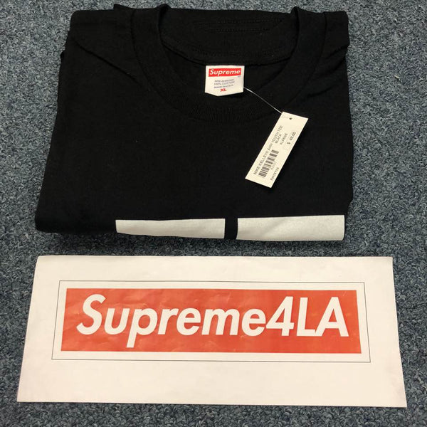 Supreme 18F/W Ahh…Youth! Tee Black