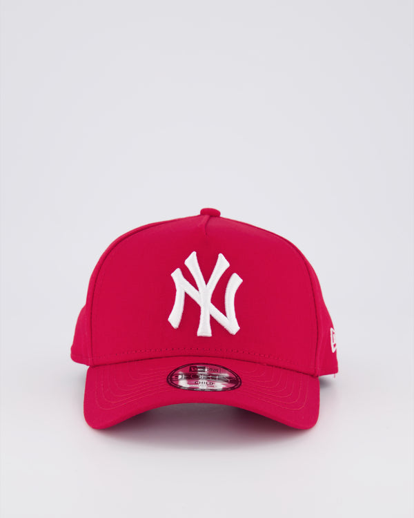 CHILD NY YANKEES 9FORTY A-FRAME - SCARLET RED