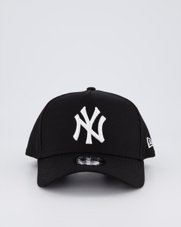 YOUTH NY YANKEES 9FORTY A-FRAME - BLACK
