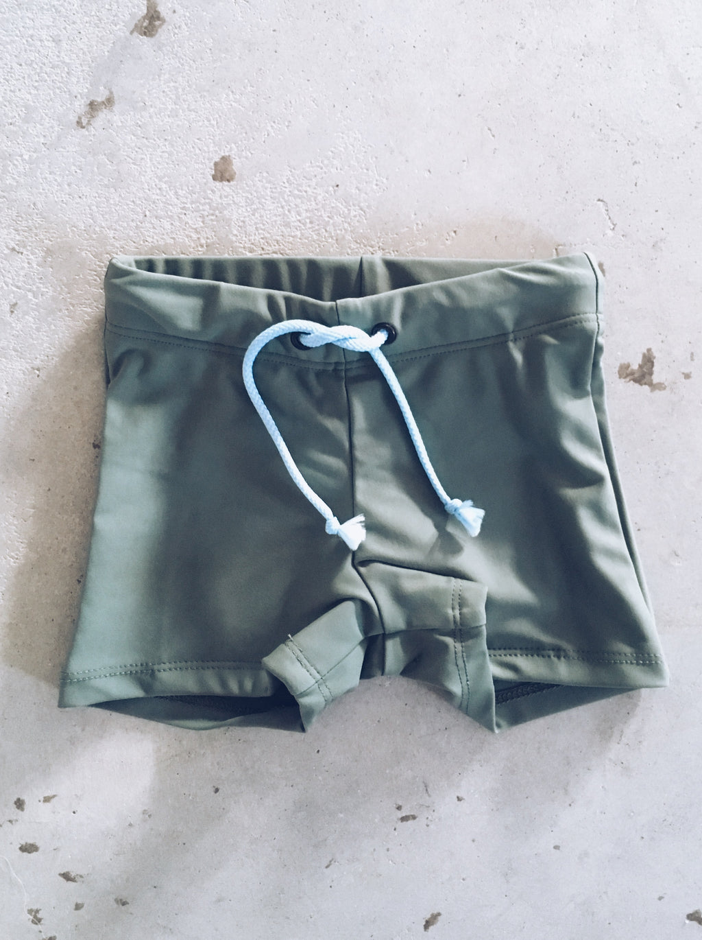 Ted Swim Shorts - Moss