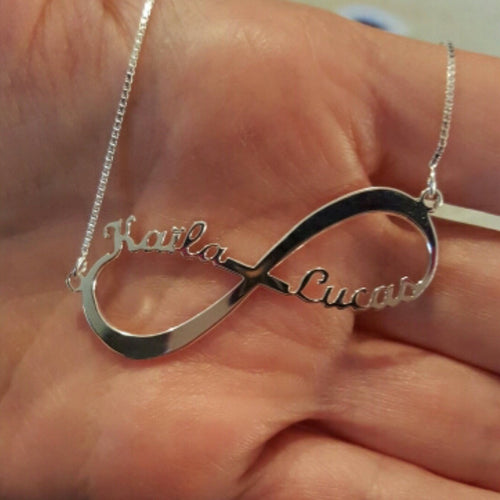 INFINITY Personalised Name Necklace