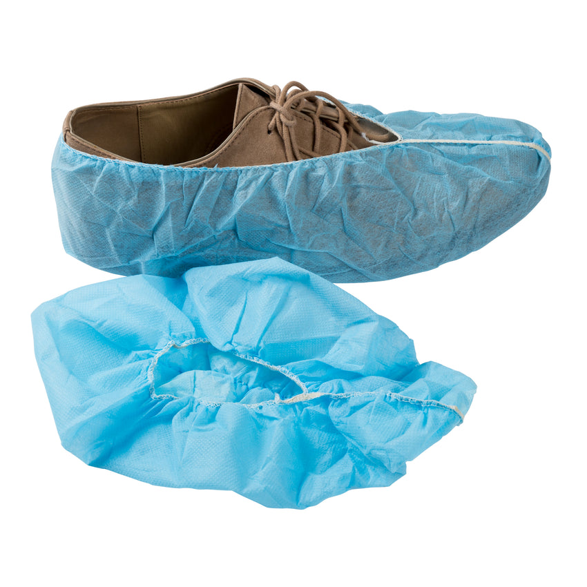 Polypro Shoe Cover Non Skid Xl Blue W White Tred 1 300