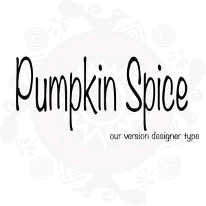 Pumpkin Spice Type Fragrance