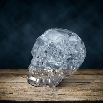 Crystal Human Skull 3D Puzzle