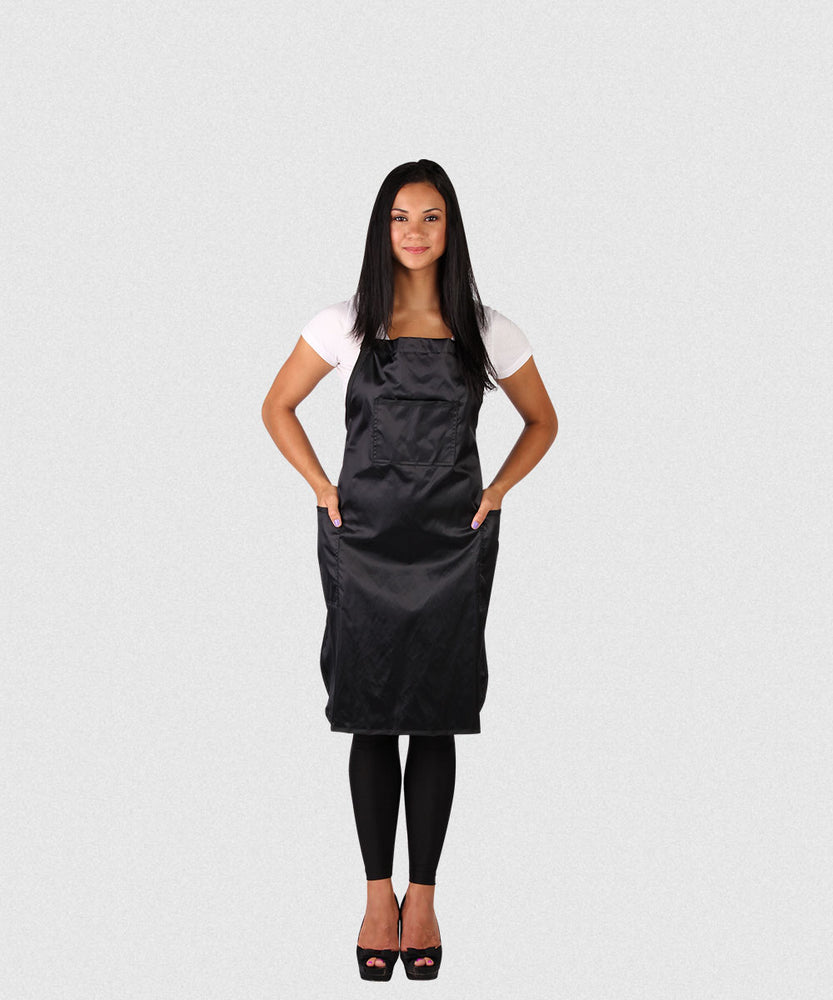NP DELUXE GLIMMER SATIN CUTTING APRON