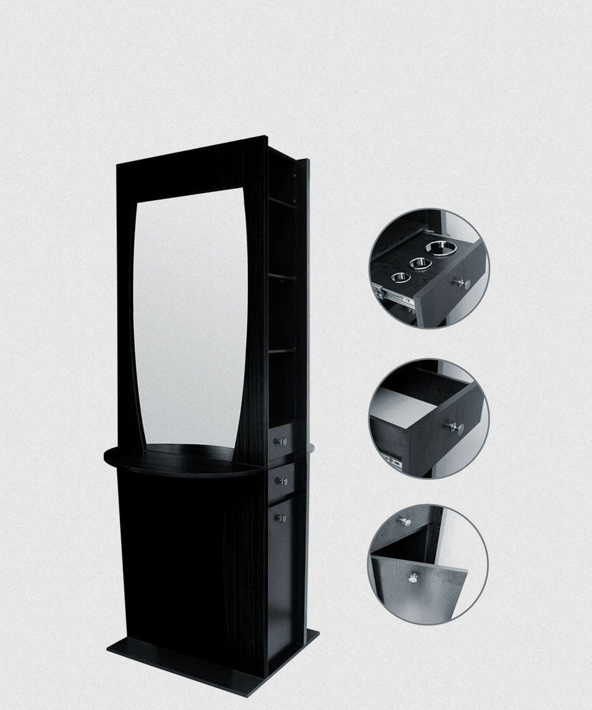 NP DELUXE DOUBLE SIDED STYLING STATION