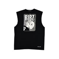 Full [Black] Sleeveless Tee